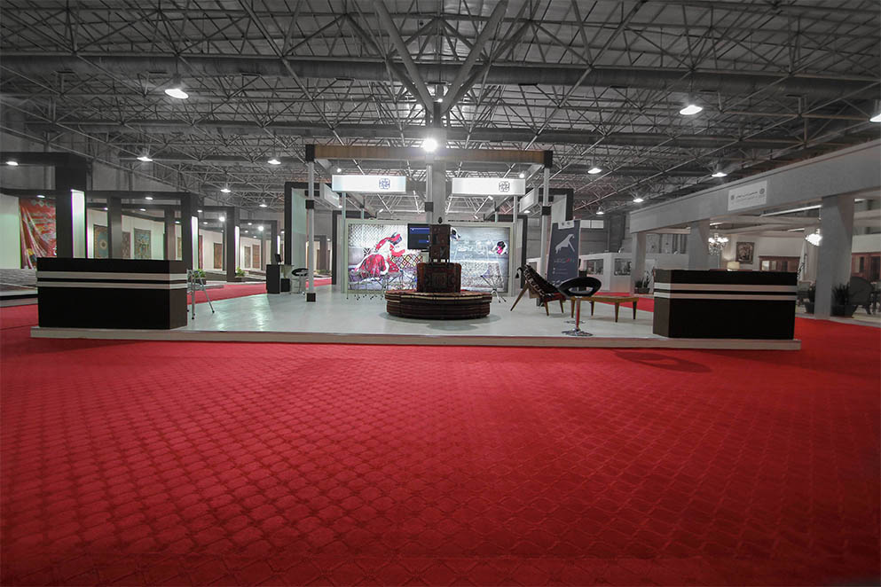 Exhibition Stand Carpet : National persian carpet center exhibition stand designers