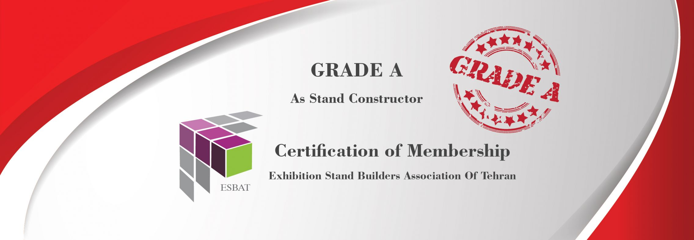Grade A of exhibition stand design and Constructing