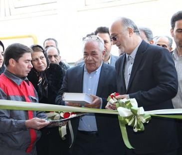 افتتاح رسمی کارخانه سپنج