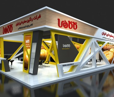 Sepanj Sazeh Asa Design Team | Exhibition Stand design | Interior Design | 3D Modeling
