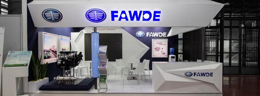 FAWDE | Industry Exhibition  | Individual Stand | Custom Design | Stand Construction Company | SEPANJ SAZEH
